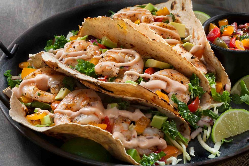 Calgary Food Photography. The best shrimp tacos you've ever laid eyes upon.