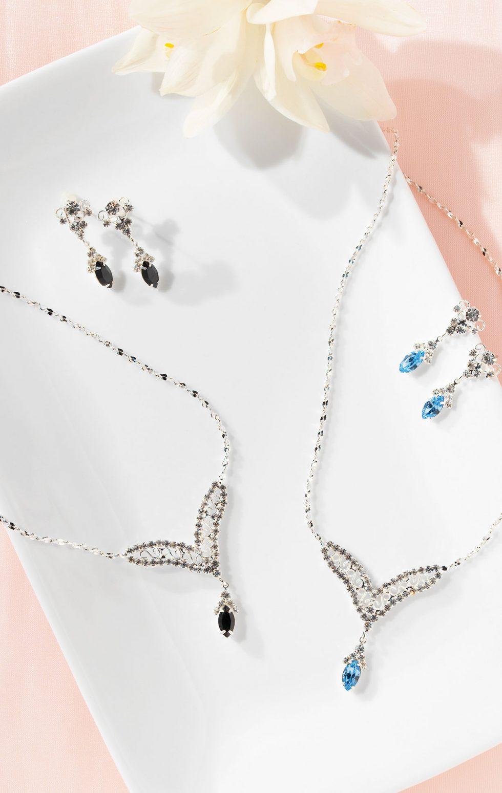 Calgary Product Photographer. Elegant jewelry on a soft backdrop.