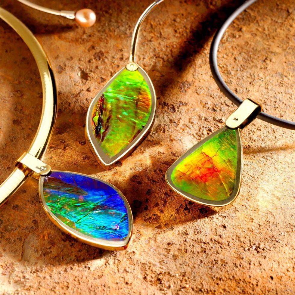 Calgary Product Photographer. Vibrant Jewelry.