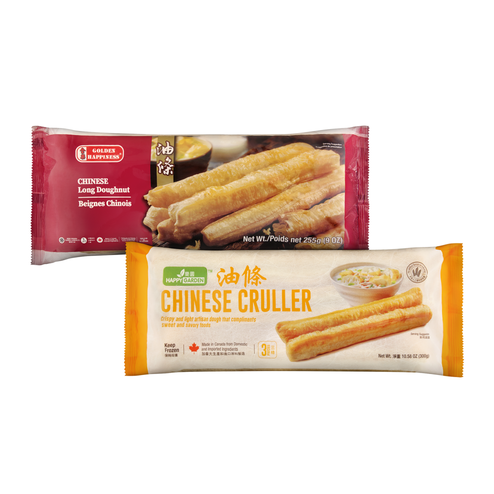 Calgary Product Photography. Golden Happiness Chinese Long Doughnut & Happy Garden Chinese Cruller.