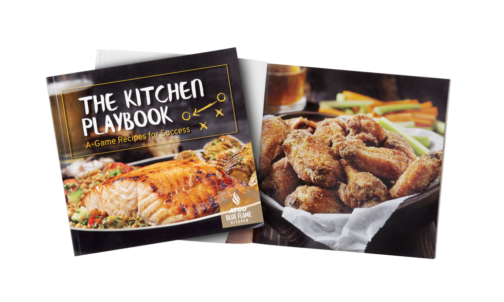 Calgary Product Photography. The Kitchen Playbook Cookbook by Atco Blue Flame Kitchen.