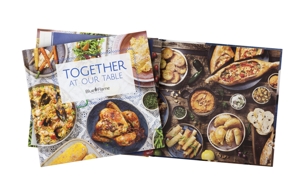 Calgary Product Photography. Together at our Table Cookbook by ATCO Blue Flame Kitchen.